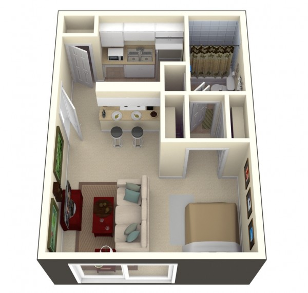 Bay-Oaks-Studio-Apartment-600x571
