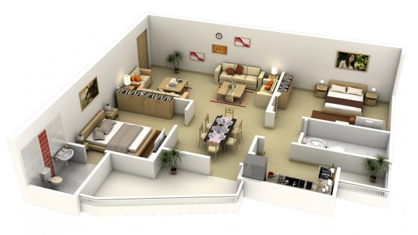 L-Shaped-2-bedroom-apartment-600x337